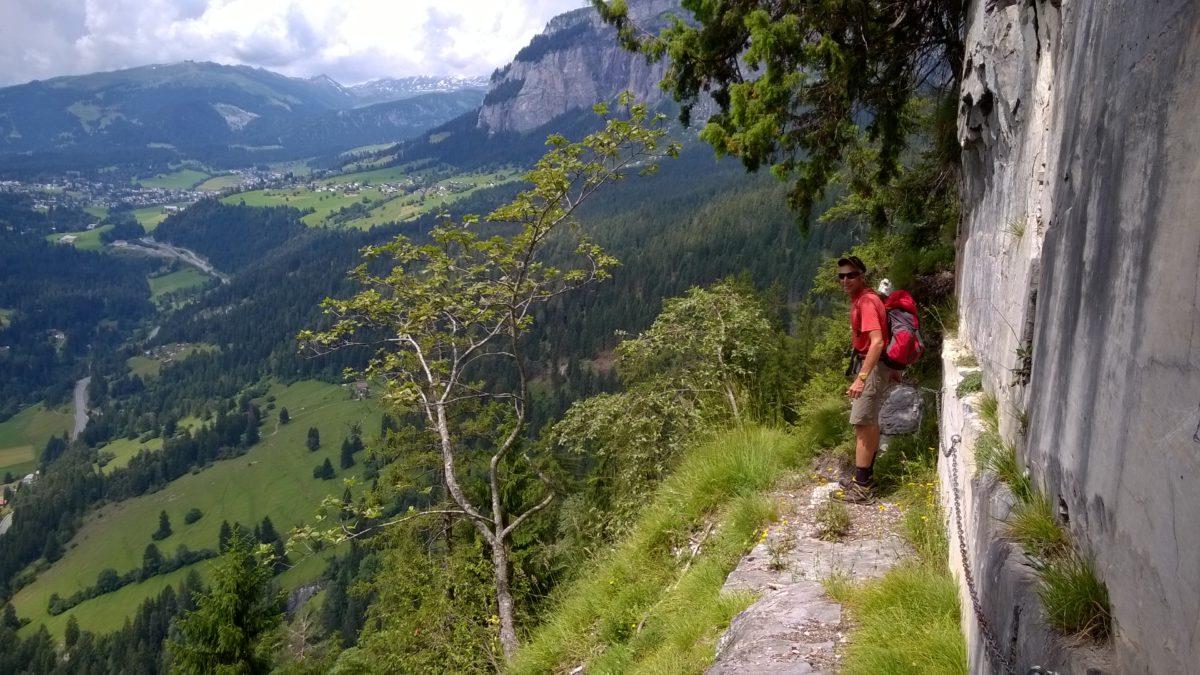 """""""Klettersteig Belmont"""" – erstes Auskundschaften einer Alp Mora Abkürzung"""